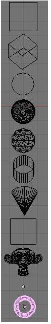 Mesh-объекты в Blender