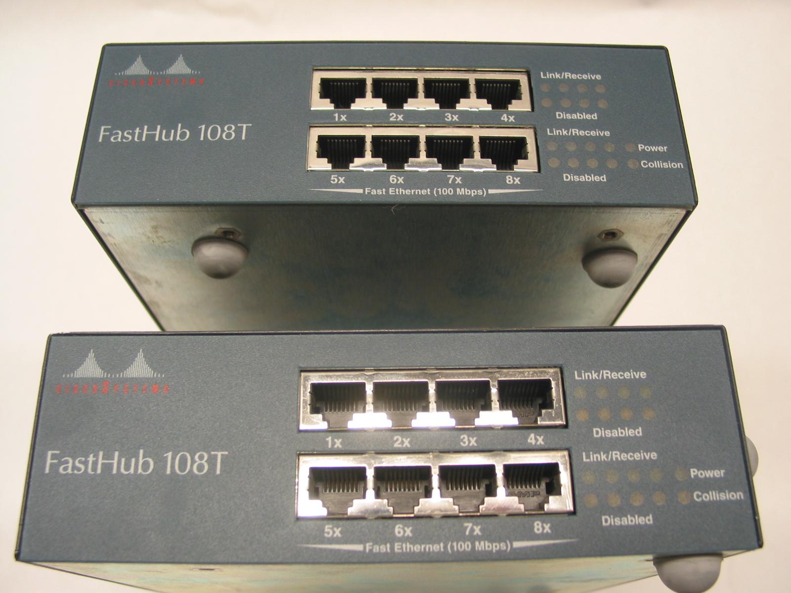 Коммутатор Cisco Fasthub 108T