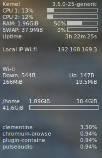 Conki in Ubuntu