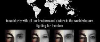 Международная группа хакеров Anonymous поддержала акции протеста в Турции