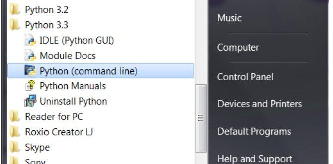 Установка Python интерпретатора