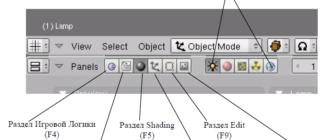 Основные Опции и Горячие Клавиши в Blender