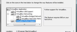 Установка и настройка VirtualBox в Windows