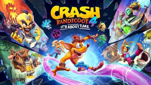 Топ-3 лучших платформера на ПК за последнее время Crash Bandicoot 4: It's About Time